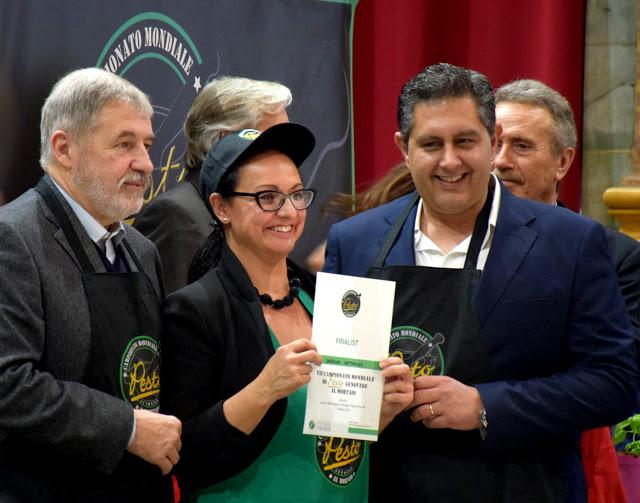 La premiazione del pesto Championship