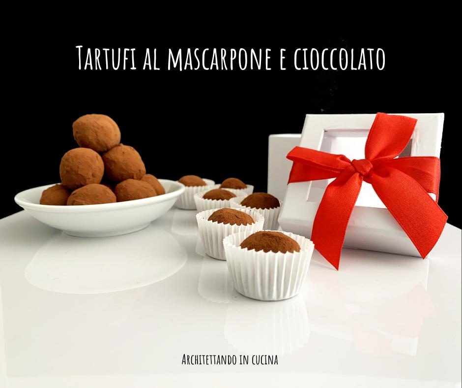 Tartufi mascarpone e cioccolato