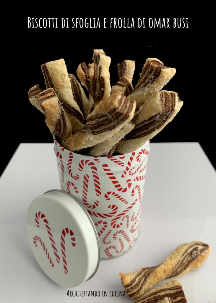 Biscotti di sfoglia e frolla di Omar Busi