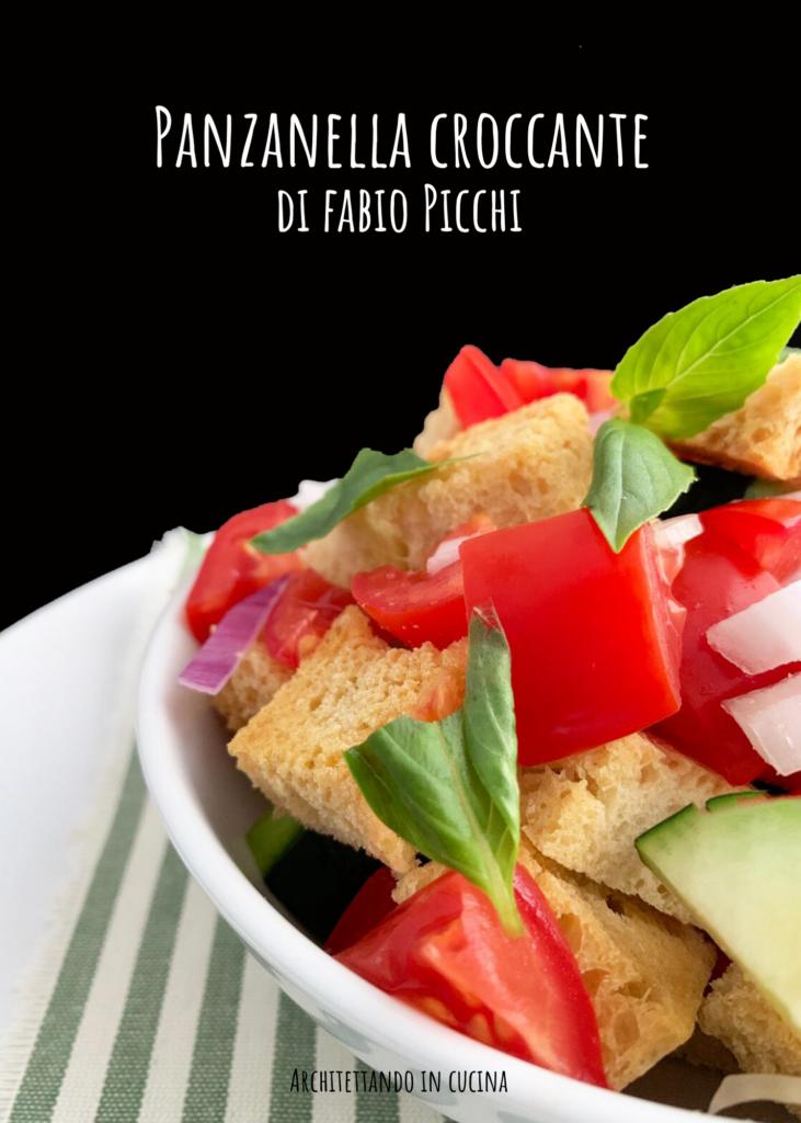 Panzanella croccante di Fabio Picchi