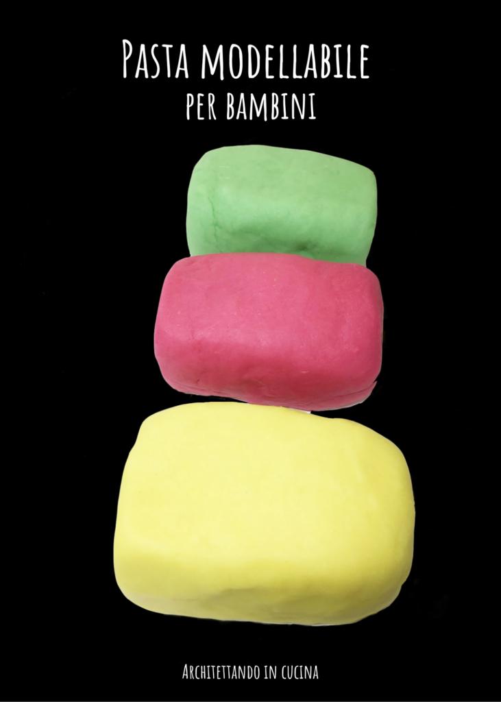 Pasta modellabile per bambini
