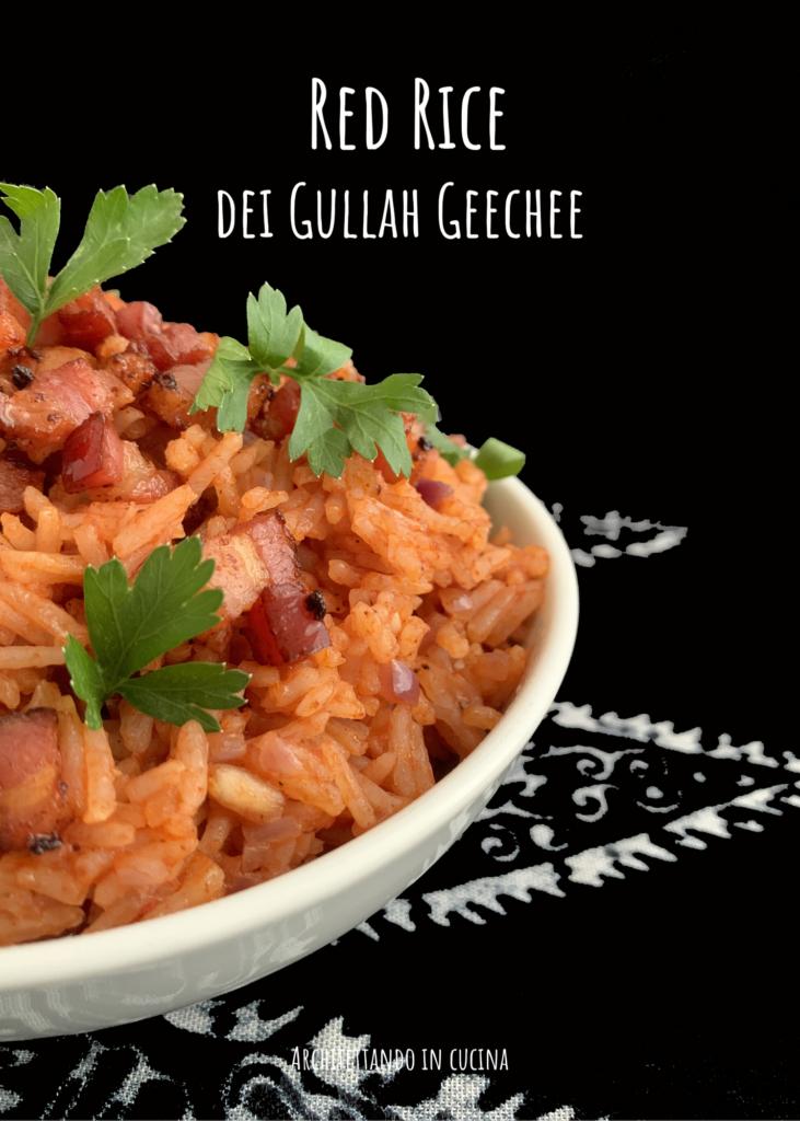 Red Rice dei Gullah Geechee