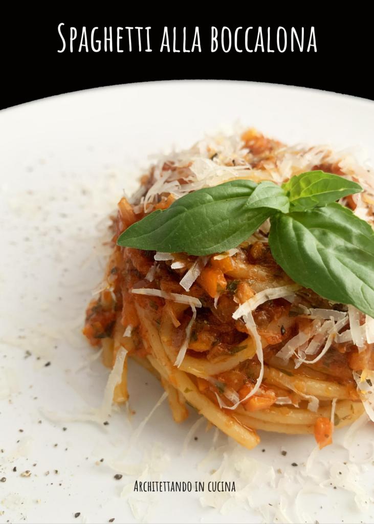 Spaghetti alla boccalona