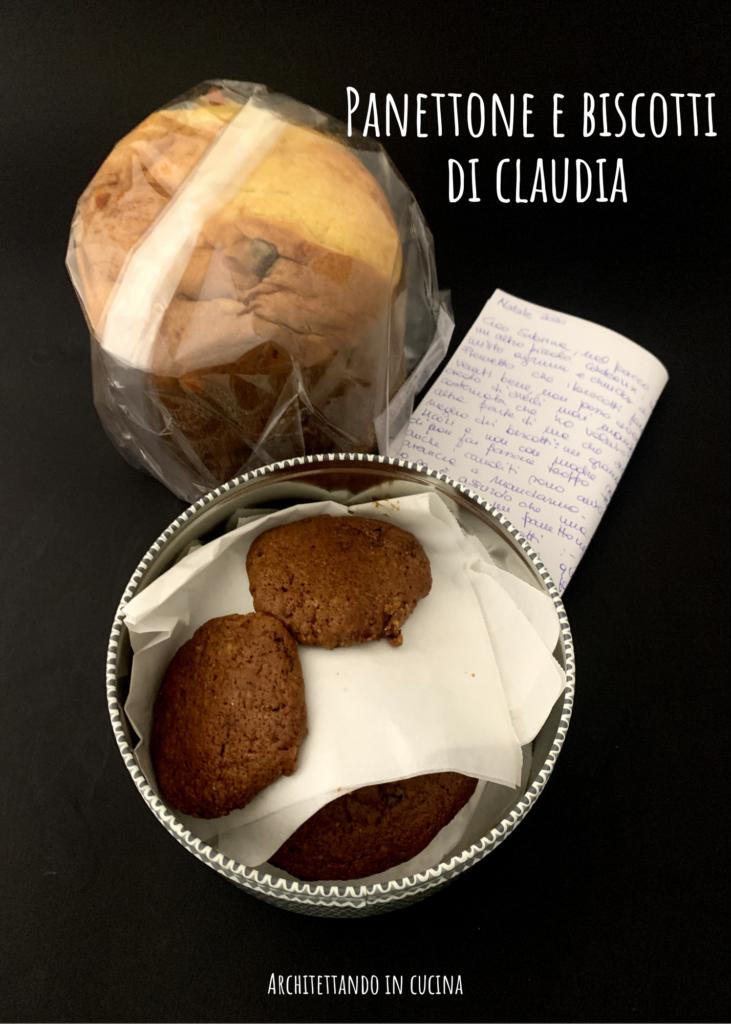Panettone e biscotti di Claudia