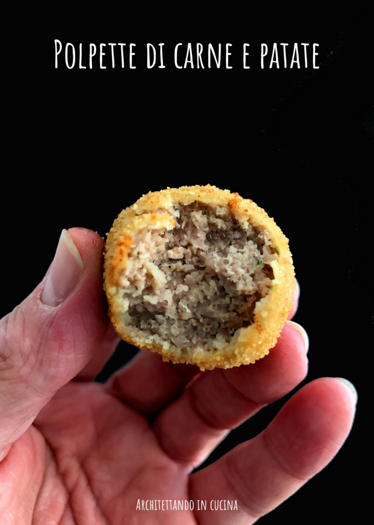 Le mitiche polpette di carne e patate dello zio Giovanni
