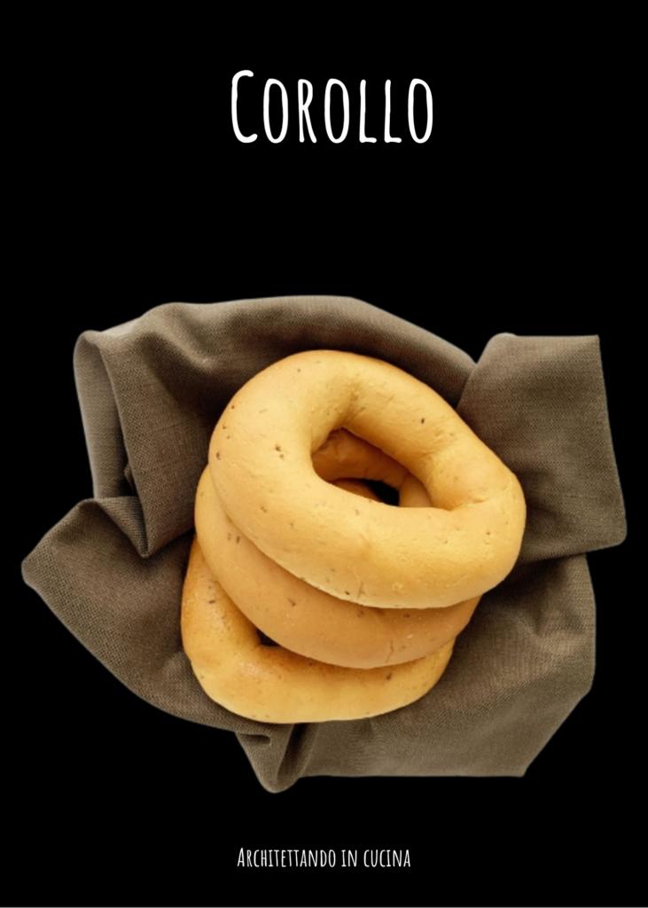 Il Corollo, antico dolce tipico senese di Pasqua