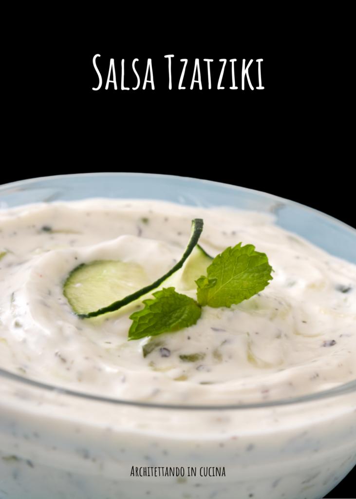 La salsa Tzatziki