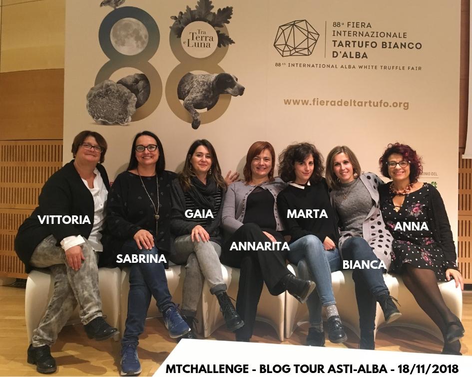 Le partecipanti al blog tour