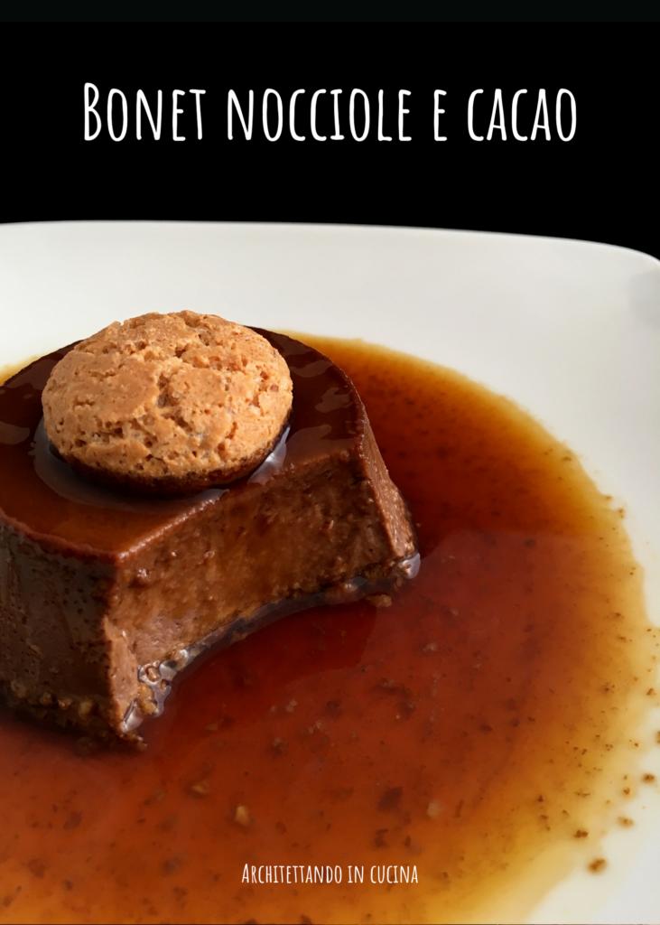 Bonet nocciole e cacao per il Calendario del cibo italiano