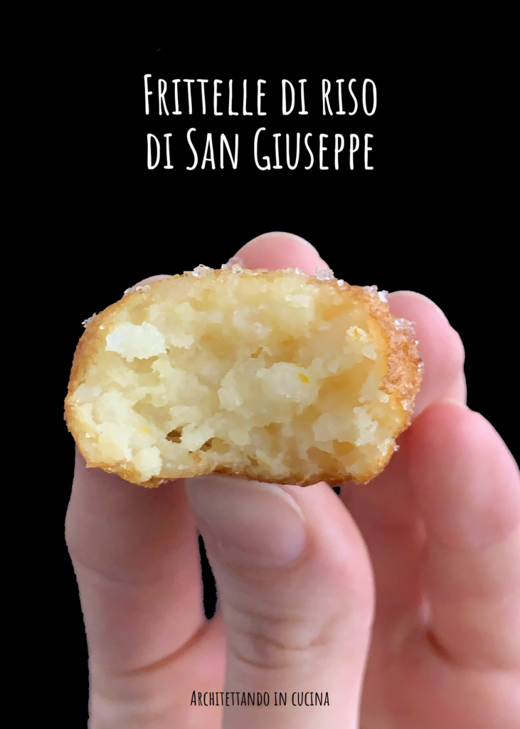 Le frittelle di riso di San Giuseppe
