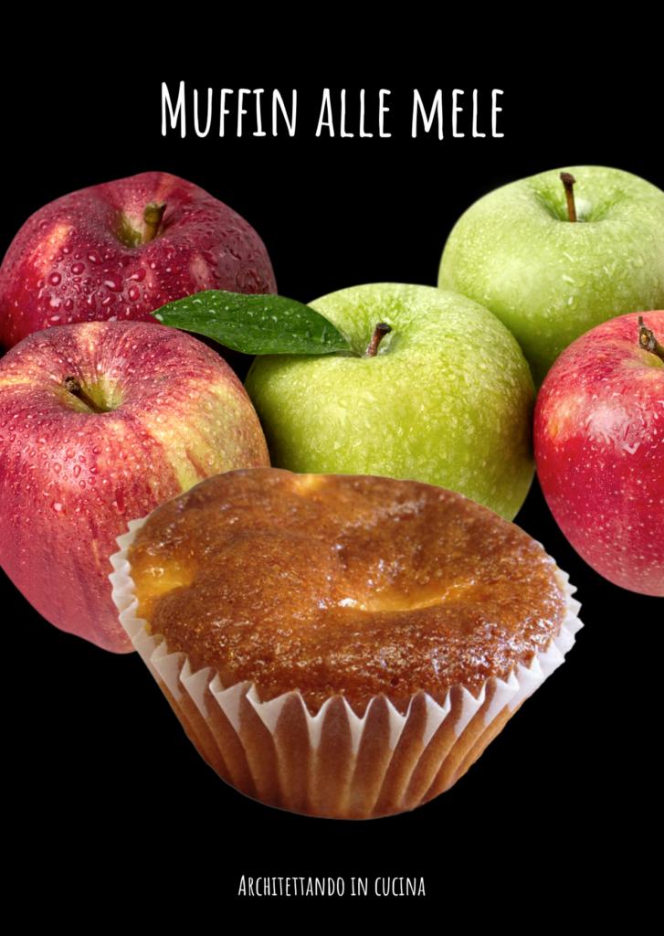 Muffin alle mele e olio di oliva