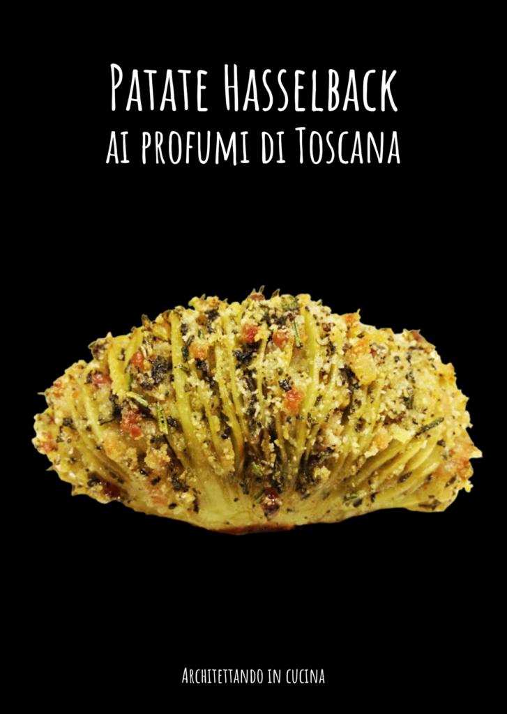 Patate Hasselback  ai profumi di Toscana